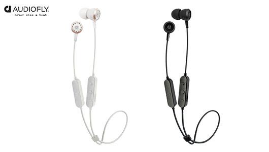 スポーツ時も安心して使える防沫仕様! Audioflyのワイヤレスイヤホン「AF33W」