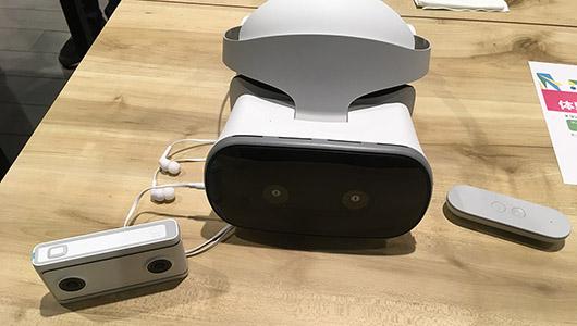 世界初のスタンドアローン型! 仮想世界を自由に歩き回れるVRデバイス「Mirage Solo」が国内発売