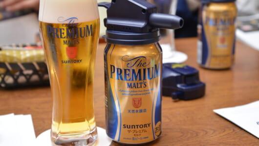 """ビールの神髄といえば""""泡""""!プレモルの「神泡」は店でも自宅でも十分に堪能できる"""