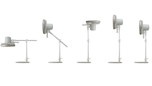 扇風機が「5つの関節」を持つとどうなる? やさしい風で人気の「カモメファン」に驚きの新モデル