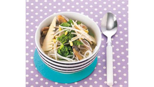 ダイエットに使える! 春野菜ベスト3を使ったスープ&ごはんレシピ