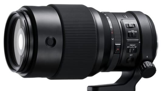 5段分の手ブレ補正を内蔵した中判ミラーレスGFX用望遠レンズ「フジノンレンズ GF250mmF4 R LM OIS WR」
