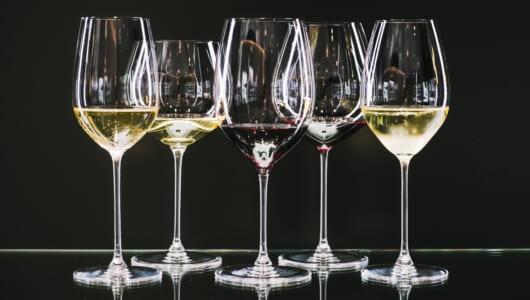 シャンパンにフルートグラスはもう古い!? ワインのおいしさはグラス次第だったなんて!