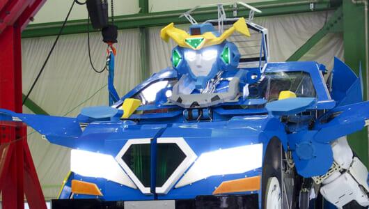 """とうとう完成してしまった """"リアルトランスフォーマー"""" 乗り込んで操縦&変形できる人型ロボ「J-deite RIDE」を見てきた"""