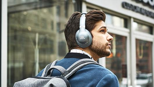 ハイブリッド方式で強力に消音! JBLのノイズキャンセリングヘッドホン「EVEREST ELITE 750NC」