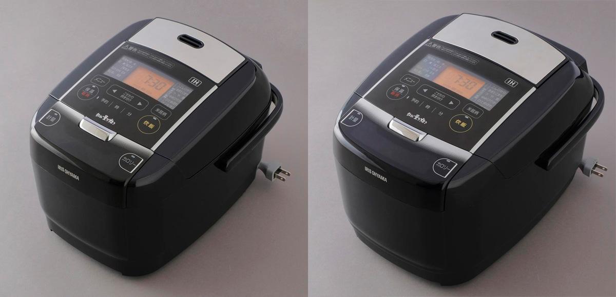 742cf5b828b4ac ↑3合炊きのKRC-IC30(左)、5.5合炊きのKRC-IC50(右)