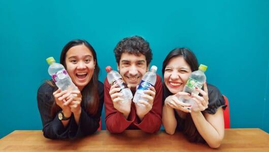 海外の人に日本の「フレーバー炭酸水」はどう映る? 4つの味で飲み比べたら、意外が味が1位に