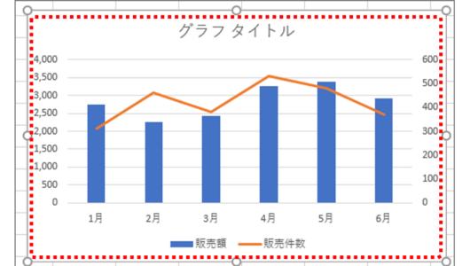 【エクセル】訴求度アップには「複合グラフ」が効果的!! 棒グラフのプラスワンテク