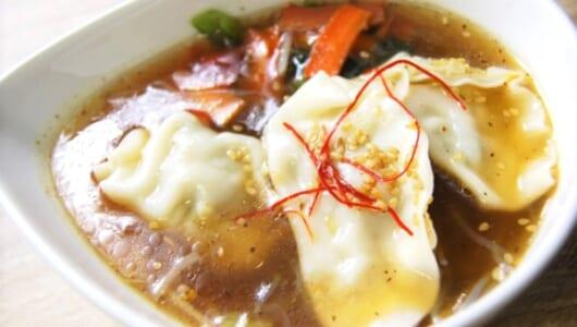 「今までで一番ドストライク」 ガッツリ食べられる「餃子と野菜の春雨スープ」が大好評