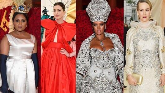 アン・ハサウェイら『オーシャンズ8』キャストが華麗なドレスで魅了