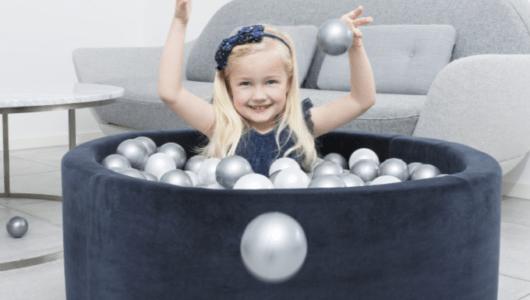 【本日発売】オシャレすぎてもはやインテリア!! 北欧デザインの「ボールプール」が伊勢丹新宿で先行発売