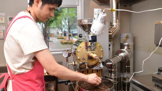 """最先端のコーヒーシェアサービス!虎ノ門に手ぶらで焙煎ができる""""時間貸しロースター""""が誕生"""
