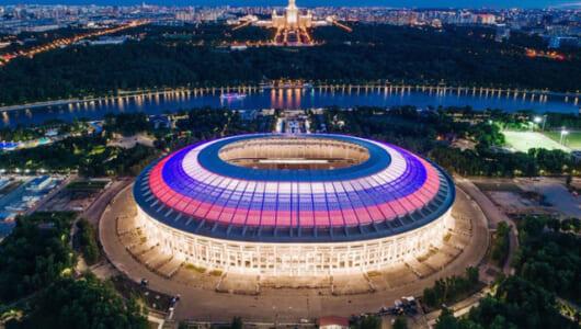 ロシアW杯のメインスタジアムがすんごい! 伝統とハイテクが融合した「ルジニキスタジアム」の5つの見所