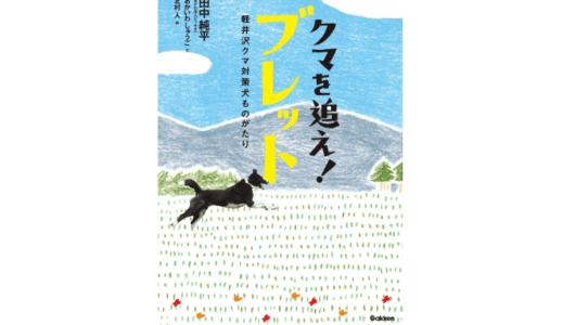 軽井沢にクマを傷つけずに森へ帰す「クマ対策犬(ベアドッグ)」がいた!――『クマを追え!ブレット 軽井沢クマ対策犬ものがたり』