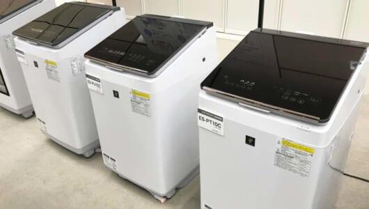「10万台売れたアイツ」が付属するって!?「独自技術テンコ盛り」シャープのタテ型洗濯乾燥機