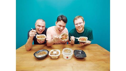 「肉ラバー」の外国人はどこの牛丼が好み?「御三家+くら寿司」を5点満点で評価