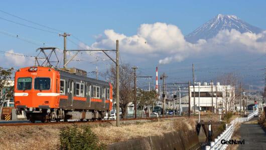「全駅から富士山が望める鉄道」の見どころは富士山だけじゃない! おもしろローカル線「岳南電車」の旅