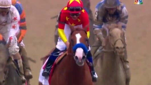 米競馬で41年ぶりに無敗の三冠馬が誕生! ジャスティファイの快挙達成レースを見よ