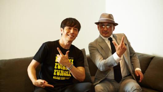 寺岡呼人×横山剣が語る「クルマと音楽」――横浜の産業道路を走ると思い出す「SUMMERBREEZE」