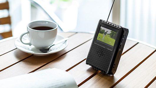 AM/FMラジオも聴ける! 防災用品として用意しておきたい約8000円のポータブルテレビ