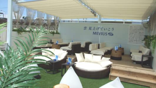 今年のJTの「海の家」はどんな感じ? 由比ガ浜の「MOVE LOUNGE_@YUIGAHAMA powered by MEVIUS」を早速堪能してきた