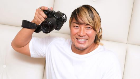 「逸材を撮るならこのカメラ!」プロレスラー・棚橋弘至が認めた本格ミラーレス「FUJIFILM X-H1」
