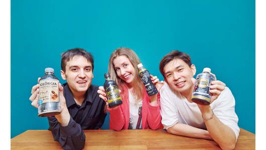 コーヒー好き外国人の好きな「ペットボトルコーヒー」は?有名4ブランドを5点満点で評価
