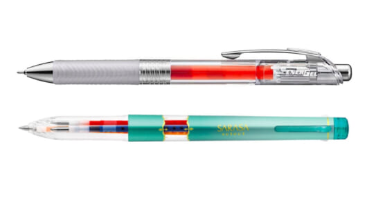 軽いタッチで書けて発色クッキリ。今「ゲルインキボールペン」が熱い!