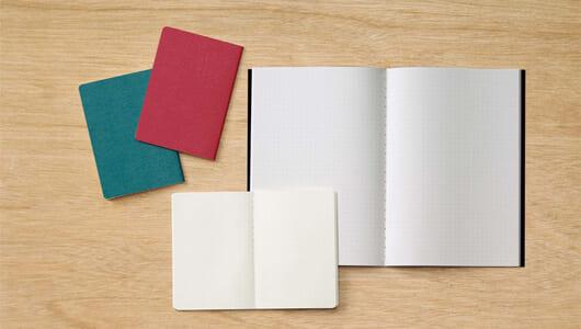 「紙」で選ぶ無印良品ノートーー書き心地が良いのは? 裏移りしないのは?