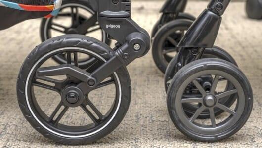 自動車評論家に衝撃走る! 「シングルタイヤ」が日本のベビーカーに革命を起こす