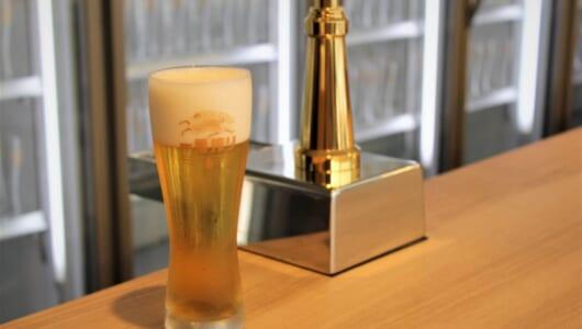 「CMか!?」と思うような表情を鈴木亮平さんがした、キリン渾身の特製グラスで味わう、最高の一番搾り。