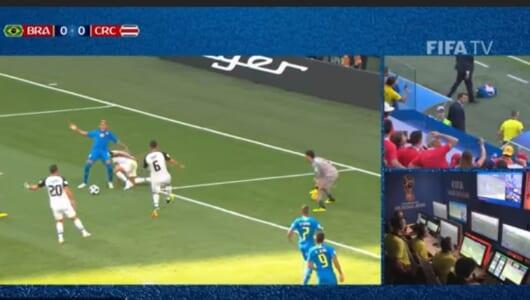 VAR初導入となったロシアW杯。注目されたシーンを振り返る