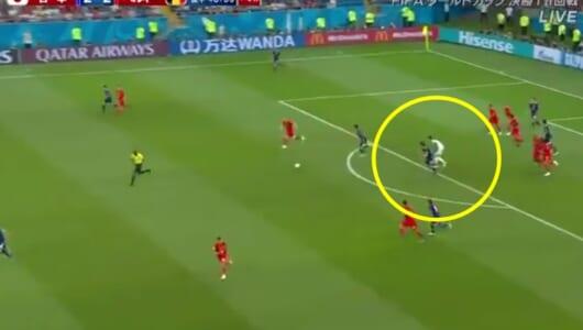 ベルギーGKが決勝点について解説。「あれは自分の武器の1つさ」