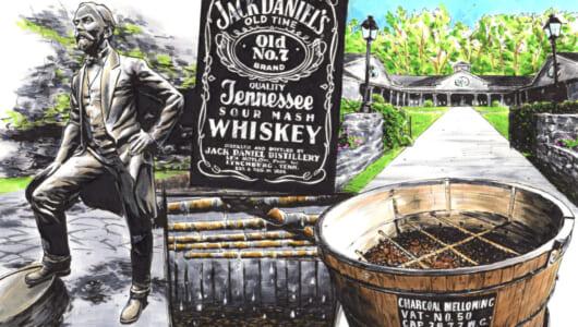 カッコいいブランドには、確固たる哲学がある。絵で分かる「ジャック ダニエル」ブランド考。【提供元/アサヒビール】