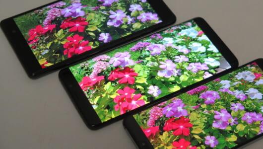 【2018夏の3強スマホ】Xperia XZ2 Premium、Galaxy S9+、HUAWEI P20 Proで撮り比べ!〜昼間編〜
