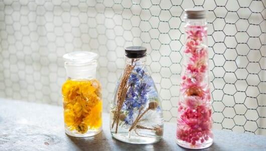 ギフトにもぴったり。人気の植物標本「ハーバリウム」の自作が楽しすぎ!