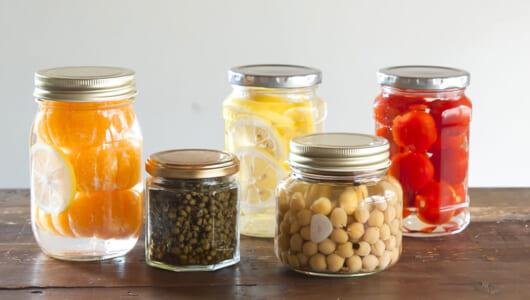 酒のつまみやおやつを作り置き。瓶詰め保存食「ホームキャニング」に挑戦