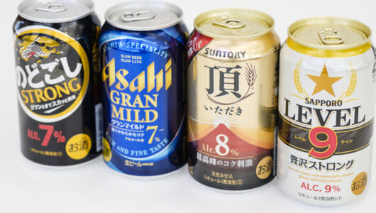 ビアライターが飲み比べてわかった!コスパ最強な「高アルコールビール」の正しい選び方と飲み方