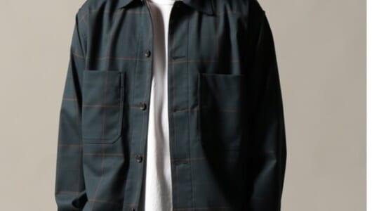 そろそろ肌寒くなってきたので、「羽織りもの」として使えるシャツはいかが?