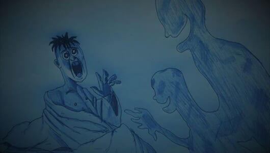 【ムー怪談】宿の怪異――壁の染みの大坊主小坊主