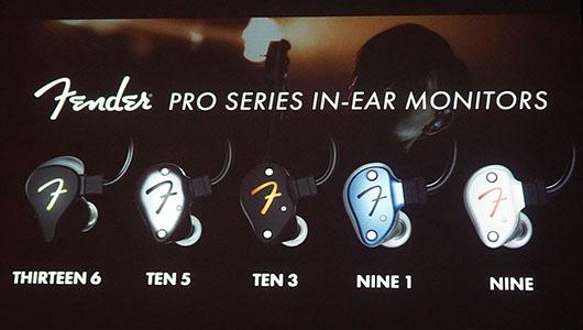 すべての音楽好きに捧ぐ! フェンダーから新イヤモニ「Pro IEMシリーズ」登場
