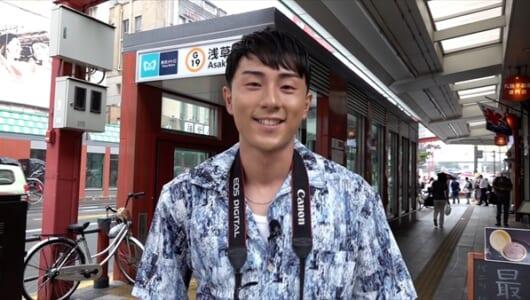 鈴木崚汰が浅草を散策『声優カメラ旅』10・27配信開始