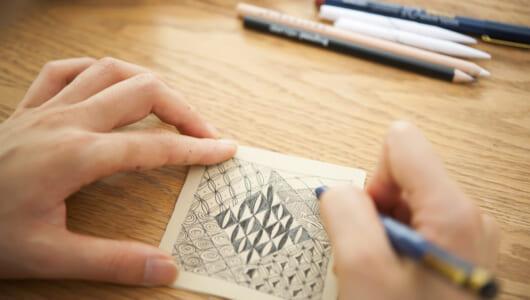 ヨガや瞑想が難しい人に、描くだけでリラックスできる方法があった!