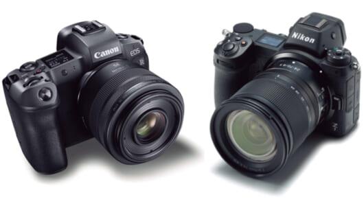 キヤノン&ニコンの「フルサイズミラーレスカメラ」の違いをプロがコンパクト解説