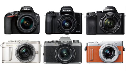 10万円前後の一眼カメラ混戦6モデルを比較! プロが本音採点