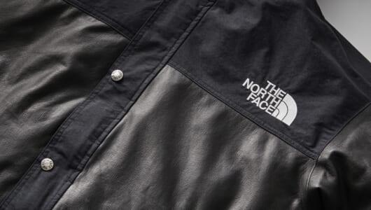 """あの「ザ・ノース・フェイス」からまさかの""""革ジャン""""登場!? ゴアテックス新素材で新たな着こなしを!"""