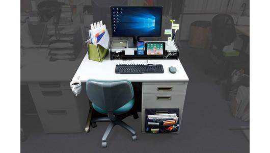 「効率的な仕事」は「効率的な机」から! デスクすっきりアイテムBefore&After