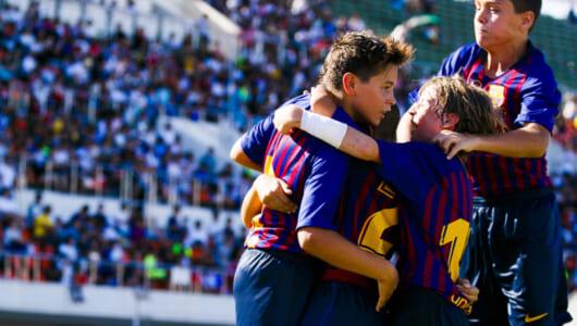 3連覇達成! 育成年代でもFCバルセロナはやっぱり強かった!!
