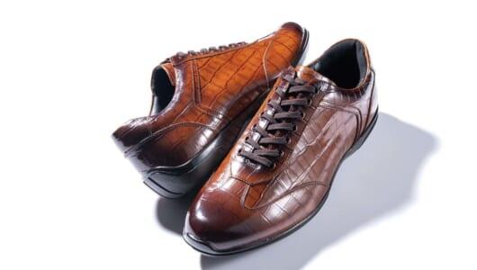 昨年即完売した「ドライビングシューズ風スニーカー」に新作! 雨にも強い美靴で弱点なし