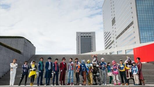 ルパ×パト×キュウ!3戦隊19ヒーロー集結「VS」最新作 19年初夏公開決定